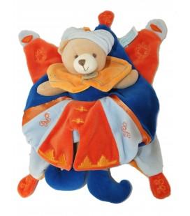 Doudou et Compagnie - OURS Indidous indidou Bleu orange Prince