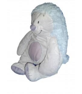 Doudou Peluche 50 cm - HERISSON bleu gris mauve - NOUKIE'S Noukies - Coll Arthur et Merlin