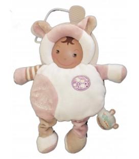 DOUDOU ET COMPAGNIE - Mouton blanc beige rose - Les Bouilles de Doudou - Revenons à nos moutons ! B65072