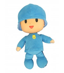Peluche Doudou Pocoyo H 25 cm Plush Stuffed Figure Toy Doll BANDAI 2006