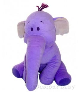 Grande peluche doudou - 50 cm - Elephant mauve Lumpy - 50 cm - Disney