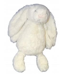 JELLYCAT - Peluche Doudou LAPIN blanc Plush Soft Toy - 22/28 cm