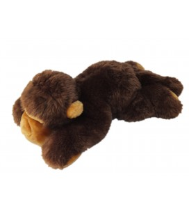 Peluche SINGE marron - PELUCHE JUNGLE CMP - L 30 cm