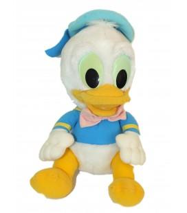 VINTAGE - Peluche doudou Baby DONALD Bébé - Disney - H 30 cm