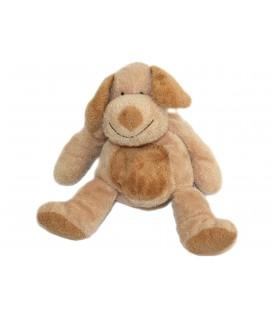 Doudou peluche CHIEN marron beige Nicotoy Simba 579/2507 22 cm