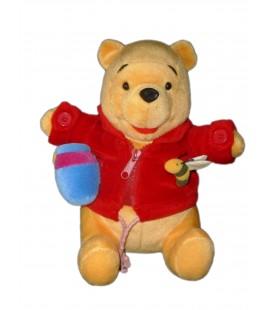Doudou Peluche d'activité Winnie assis Abeille - Disney Nicotoy - H 25 cm - 587/2130