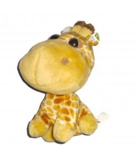 Peluche girafe BIG HEADZ 26 cm