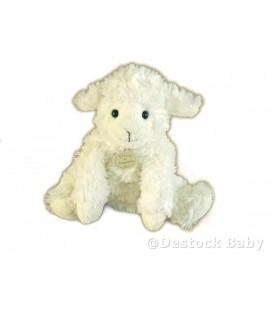 DOUDOU ET COMPAGNIE - Agneau mouton blanc ivoire 16 cm DC2568