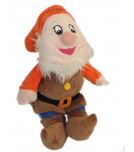 Doudou peluche Nain Joyeux - Happy - Blanche neige et les 7 nains H 30 cm Disney Nicotoy 587/0592