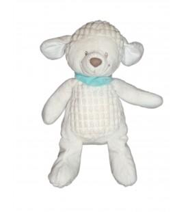 Doudou peluche Chien Mouton blanc Nicotoy 32 cm 570/0257
