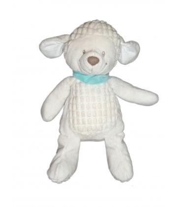 Doudou peluche Mouton agneau blanc - Nicotoy Simba Dickie 32 cm