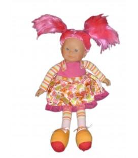 Doudou poupée COROLLE Cheveux roses - 38 cm Ref 95 11J12E 4463CO-1