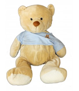 PELUCHE XXL - OURS BEIGE - MAX ET AND SAX - 35/70 cm