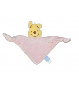 Doudou plat Triangle rose Winnie Disney Baby GSA