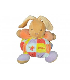 KALOO - Doudou Bliss Ballon Multicolore Grelot - H 16 cm - KP-05219