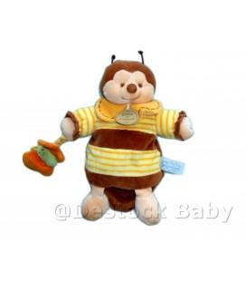 DOUDOU ET COMPaGNIE - Marionnette Bourdon abeille Ponpon Z'amigolos Papillon