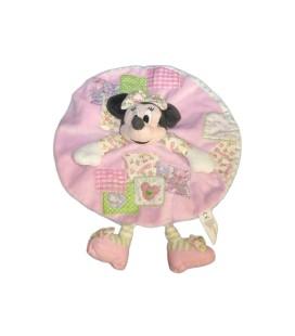 Doudou plat rond MINNIE rose Disney Nicotoy - 587/9959