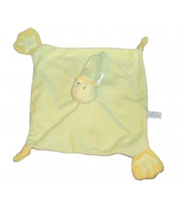 Doudou plat GRENOUILLE Verte - GIPSY - Frog Baby Comforter