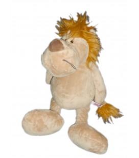 Doudou peluche LION beige - NICI - H 52 cm
