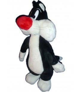 Peluche GROS MINET Sylvèstre - H 40 cm - Looney Tunes 2000
