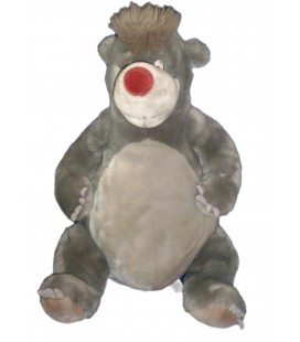 Peluche BALOO - Le livre de la Jungle - Jungle Book - H 45 cm - Disneyland Disney Paris