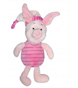 Peluche Doudou PORCINET - Bonnet - Disney Nicotoy - H 34 cm 5440