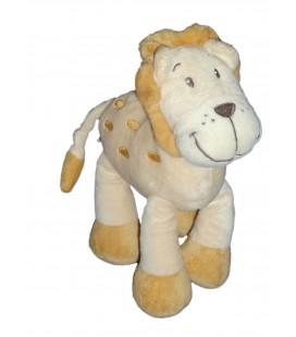 Doudou LION beige MOTS D'ENFANTS Siplec Leclerc H 20 cm 579/7322