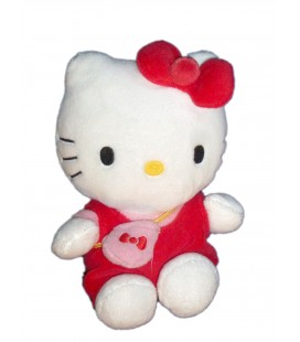 Peluche doudou HELLO KITTY - Sac à Main - H 15 cm