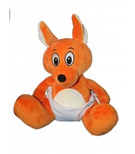 Peluche doudou Kangourou bébé WALIBI H 35 cm Belpark Bisoes