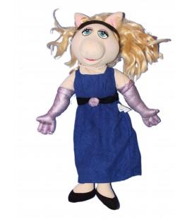 Peluche Muppet Show - Peggy la Cochonne - Jim Henson - H 45 cm
