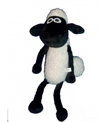 Doudou peluche Shaun le mouton - NICI - H 35 cm assis