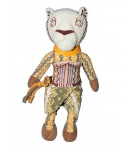 RARE ET COLLECTOR - Doudou peluche Figurine Nala LE ROI LION Spectacle Théatre Mogador 26 cm