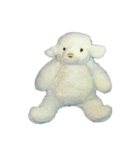 Peluche MOUTON blanc - GIFI Diffusion - L 38 cm