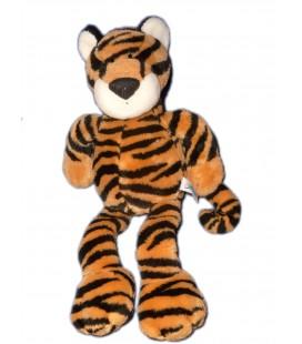 Doudou peluche Tigre marron noir - NICI - H 42 cm