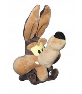 Peluche doudou BIP BIP COYOTE - Grosse Tête - Baby Looney Tunes - TCC H 32 cm
