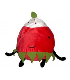 Peluche doudou coussin FRAISE - IKEA Torva Plush Strawberry - H 42 cm