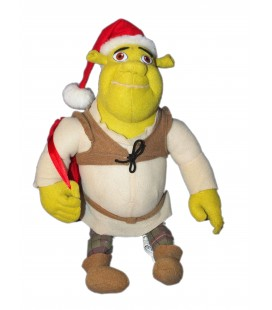 Peluche Shrek - Merry Christmas - Père Noël - Play by Play - H 35 cm