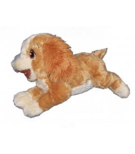 Peluche Lady LA BELLE ET LE CLOCHARD Original Disney Store L 35 cm - Langue coupée