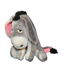 VINTAGE - Peluche BOURRIQUET Gris assis Disney H 22 cm