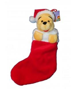 chaussette de noel peluche winnie h 55 cm disney - Chaussette De Noel Disney