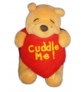 Doudou peluche WINNIE The Pooh Plush - Cuddle Me 22 cm - Disney