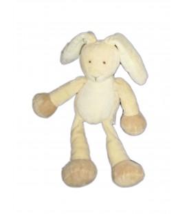Peluche Doudou LAPIN creme beige clair blanc - GUND - 24 cm