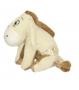 Doudou peluche BOURRIQUET beige H 20 cm DISNEY Baby Simba - 587/5842