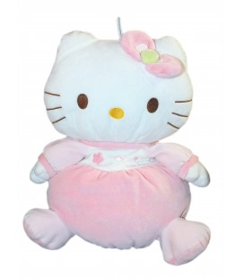 Peluche doudou Range Pyjama HELLO Kitty H 36 cm Sanrio Jemini