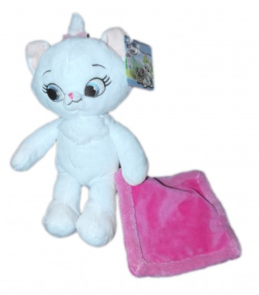 peluche doudou chaton chat marie les aristochats disney nicotoy h 25 cm 587 - Aristochats Marie