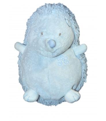 Doudou HERISSON bleu H 22 cm TARTINE ET CHOCOLAT