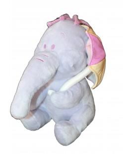 Doudou peluche LUMPY L'Efelant Elephant mauve Disney Nicotoy Simba Dickie H 23 cm 587/2253