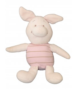 Peluche Doudou en tissu - PORCINET - Disney Baby Nicotoy - H 28 cm - 587 / 2032